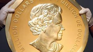 Guinness'lik altın para çalındı