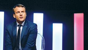 Fransa'da Macron önde