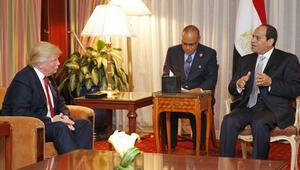 ABD Başkanı Donald Trump, Sisi ile görüşecek