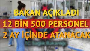 Sağlık Bakanlığı 12 bin 500 personel alımı için başvuru ne zaman yapılacak