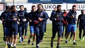 Trabzonspor, Çaykur Rizespor hazırlıklarını sürdürdü