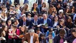 Edirnede kitap okuma etkinliği