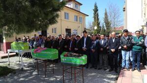 Yanarak ölen 3 Afgan kardeş toprağa verildi