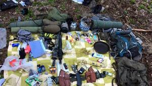 Bingölde 2 PKKlı yakalandığı çatışmanın görüntüleri ortaya çıktı