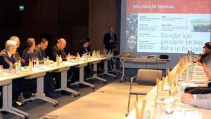 Türkiye Kamu-Üniversitesi-Sanayi İşbirliği Toplantısı, AGÜ'de yapıldı
