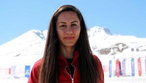 Milli atlet Aslı Çakır, Erciyeste form tutuyor
