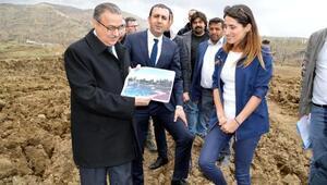Yeni Şırnakın ilk parkı 83 dönümlük alanda yaplıyor