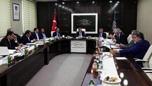 Van Ekonomi Konseyi kentin sorunları için toplandı