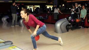 Bowlingte yarıştılar