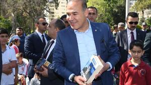 Atatürk Parkında okuma etkinliği