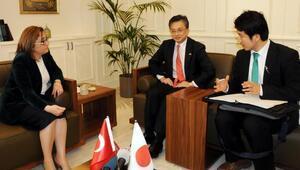Japon Büyükelçi Oka, Fatma Şahini ziyaret etti