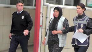 Hırsızlık için girdiği evde yakalanan kadın 'aşeriyorum' dedi