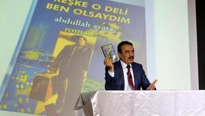 Yazar Abdullah Ayata, AGÜ'de okurlarıyla buluştu