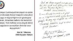 ABD Dışişleri Bakanı Rex Tillerson Anıtkabiri ziyaret etti (2)