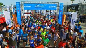 Bodrum'da Global Run coşkusu