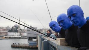 Blue Man Group İstanbulda