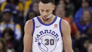 Warriorsta Curry sakatlandı