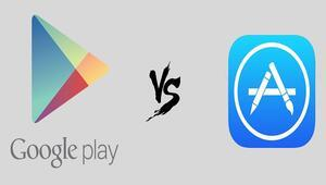 Google Play App Storea fark attı