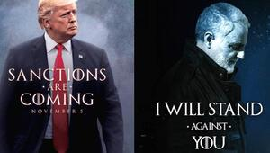 HBO ve Game of Thrones ekibinden Trumpa poster tepkisi