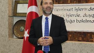 Çalışmalar süren Taksim Camiinde alem yerleştirildi 91