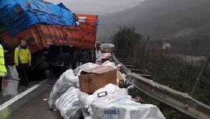 Merkez Haberleri: Ardahanda sis ve buzlanma kazalara yol açtı 16