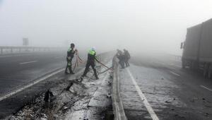 Merkez Haberleri: Ardahanda sis ve buzlanma kazalara yol açtı 2