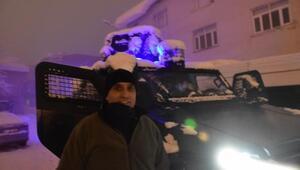 Beytüşşebap Haberleri: Beytüşşebapta ilginç kar temizliği 37
