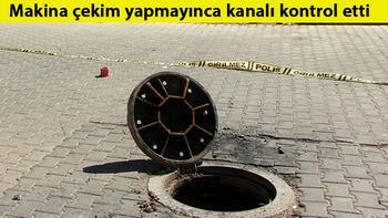 Kanalizasyonda şoke eden görüntü