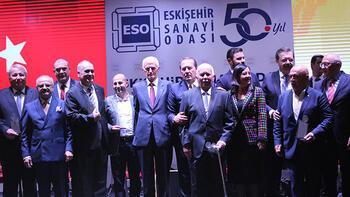 Eskişehir Sanayi Odası 50. yılını coşkuyla kutladı