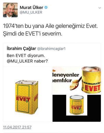 Ey gidi Murat Ülker ey