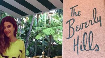 Başak Dizerin Los Angelesı: The Beverly Hills Hotel