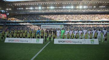 Fenerbahçe - Akhisarspor maçından görüntüler