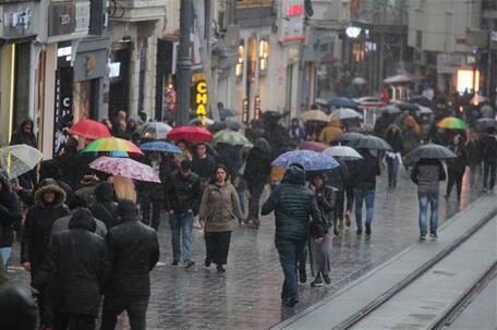 Son dakika: İstanbul için önemli uyarı Fırtına ve kuvvetli rüzgara dikkat..