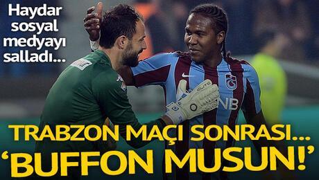 Trabzonspora gol geçidi vermeyen Haydar sosyal medyayı salladı