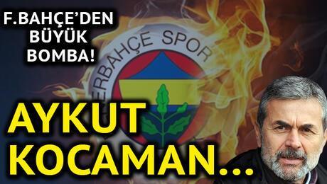 Fenerbahçeden büyük bomba Aykut Kocaman...