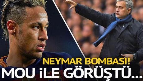 Neymar bombası Mourinho ile transferi görüştü...
