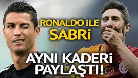 Ronaldo ile Sabri Sarıoğlu aynı kaderi paylaştı