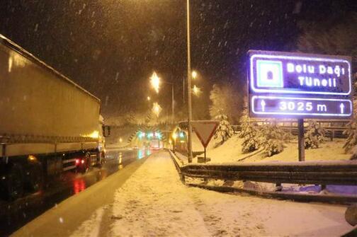 Kar yağışı İstanbula dayandı İşte yurttan kar manzaraları...