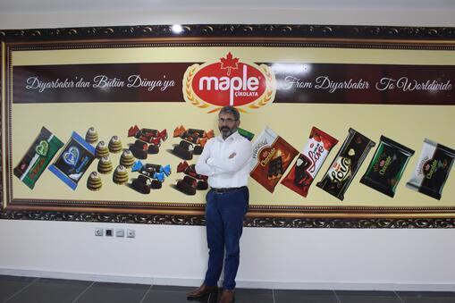 Diyarbakır'dan 25 ülkeye çikolata ihracatı