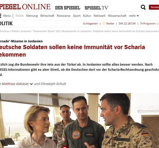 Türkiyeden ayrılan Alman askerlerini Ürdünde şok