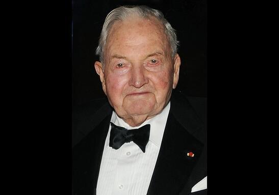 Son dakika ABDli ünlü milyarder David Rockefeller öldü