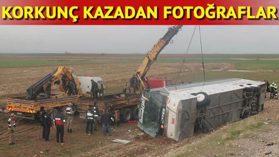 Son dakika... Silopide Iraka yolcu taşıyan otobüs devrildi: 9 ölü, 28 yaralı