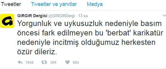 O karikatürün ardından flaş karar.. Gırgır dergisi kapatıldı