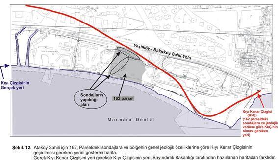 Ataköy sahil yapılarına yargı şoku