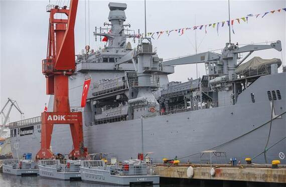 TCG Sancaktar, Deniz Kuvvetleri Komutanlığına teslim edildi