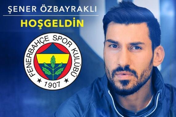 Fenerbahçe Şener Özbayraklı ile 4 yıllık sözleşme imzaladı