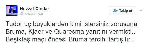 Bruma sosyal medyayı karıştırdı