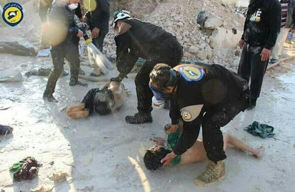 İdlibden korkunç görüntüler... Kimyasal katliam