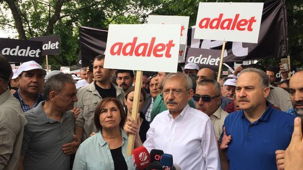 CHPnin Adalet Yürüyüşü başladı