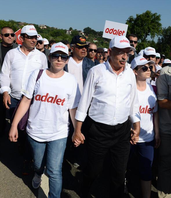 Adalet Yürüyüşünün 18inci gününden kareler